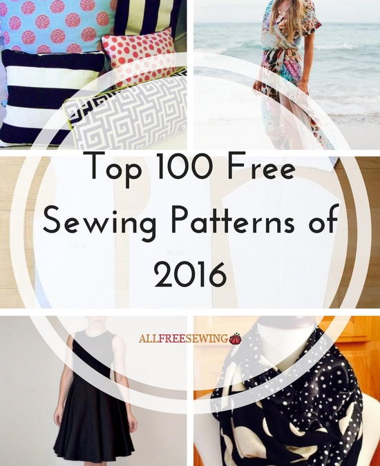 Top 100 Free Sewing Patterns of 2016 | AllFreeSewing.com