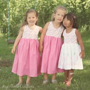Girls Free Sundress Pattern