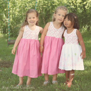 Girls Free Sundress Pattern