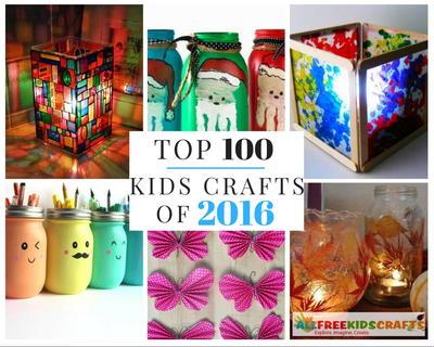 Top 100 Easy Kids Crafts Of 2016 Allfreekidscrafts