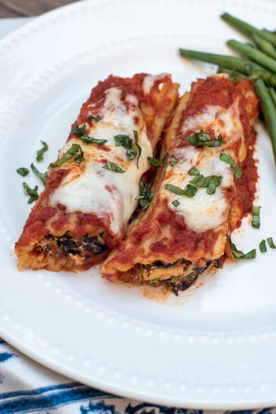 Make-Ahead Manicotti
