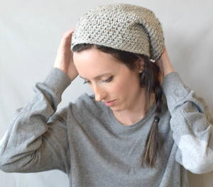 Beginner East Village Slouch Hat Pattern