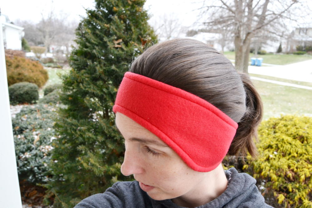 Fleece Ear Warmer Headband Pattern | AllFreeSewing.com