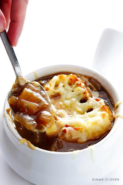 The Very Best Classic French Onion Soup