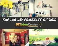 Top 100 DIY Projects of 2016: DIY Home Decor, Home Improvement Ideas, and More