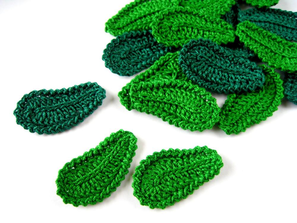 Crochet Leaf Irish Lace Motif Allfreecrochet