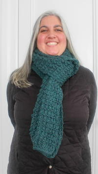A Beginner's Super Scarf
