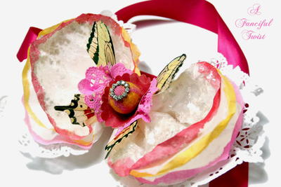 Fancy Coffee Filter Corsage