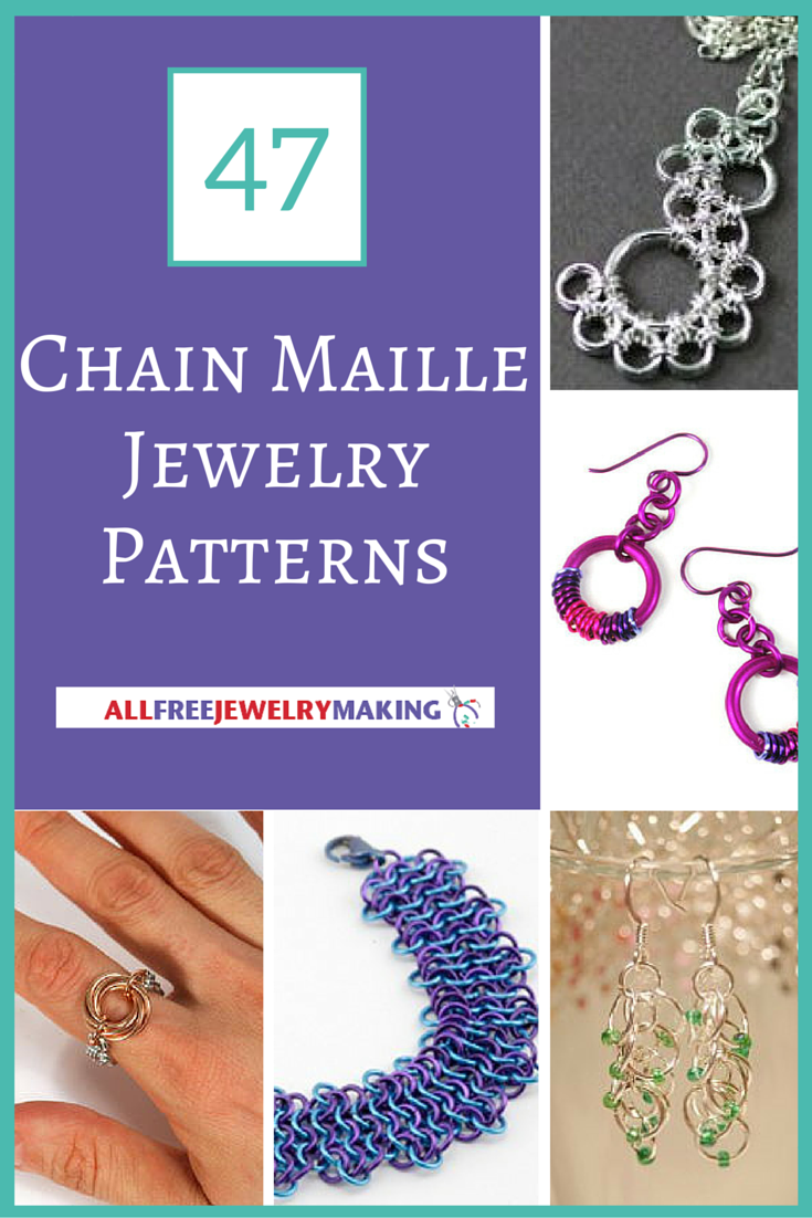 47 Free Chain Maille Jewelry Patterns AllFreeJewelryMakingcom