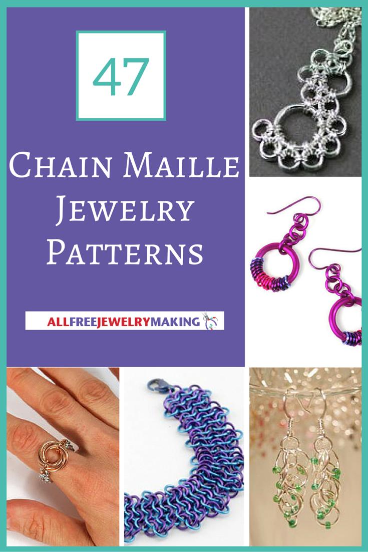 47 free chain maille jewelry patterns allfreejewelrymaking baditri Choice Image