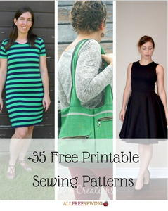 35+ Free Printable Sewing Patterns