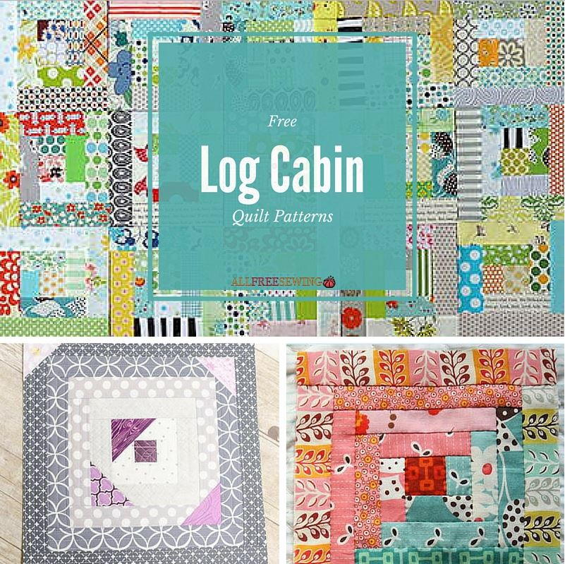 37 Free Log Cabin Quilt Patterns | FaveQuilts.com : log cabin quilt block history - Adamdwight.com