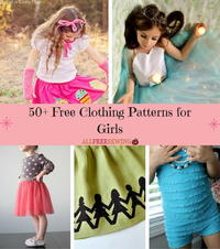 50+ Free Clothing Sewing Patterns for Girls