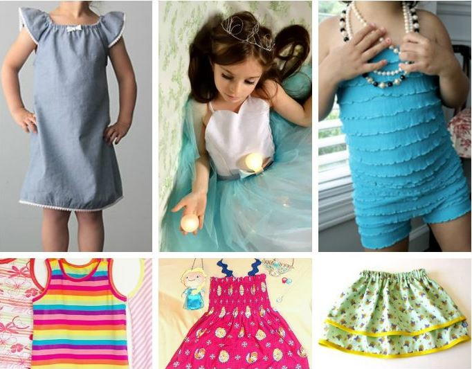 50 Free Clothing Patterns For Girls Allfreesewing