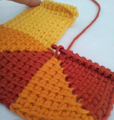 Ten Stitch Tunisian Crochet