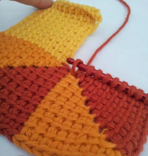 Ten Stitch Tunisian Crochet Allfreecrochetafghanpatterns
