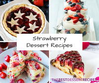 38 Strawberry Dessert Recipes