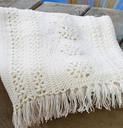 58 Crochet Afghan Patterns Using The Popcorn Stitch Bobble Stitch