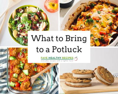 What To Bring To A Potluck 21 Potluck Favorites