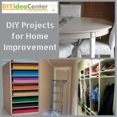 34 DIY Projects For Home Improvement