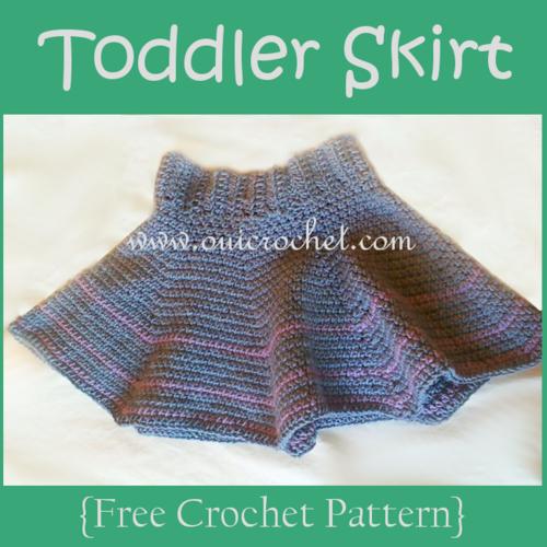 Plenty Of Ruffles Toddler Crochet Skirt Allfreecrochet