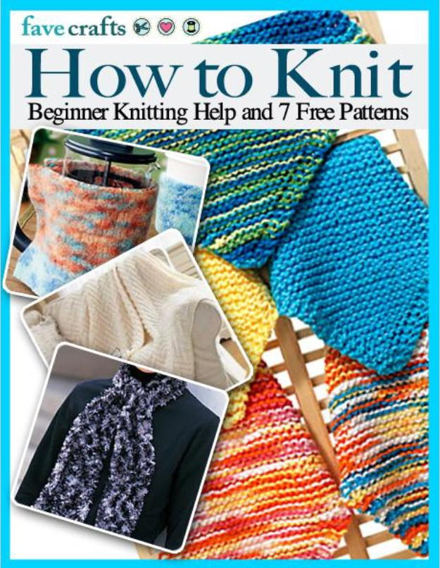 How To Knit Beginner Knitting Help And 7 Free Patterns Favecrafts
