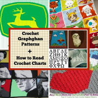 41 Crochet Graphghan Patterns + How to Read Crochet Charts