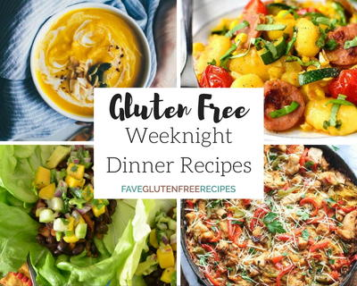 25 Easy Weeknight Dinners Gluten Free Meals for the Family