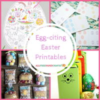 12 Egg-citing Easter Printables
