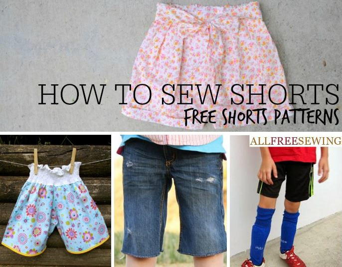 How To Sew Shorts 40 Free Shorts Patterns