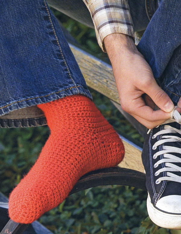 32 Free Crochet Sock Patterns Allfreecrochet