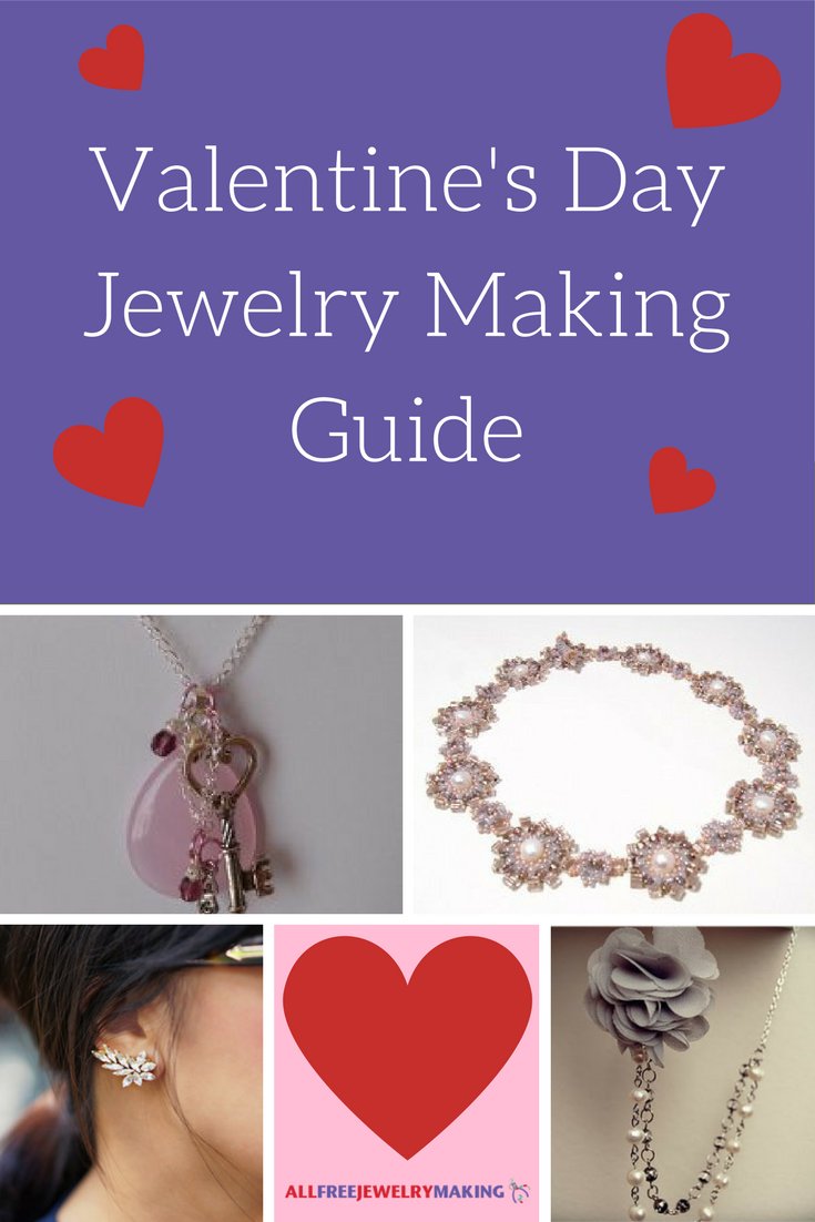 valentine s day jewelry making guide allfreejewelrymaking com rh allfreejewelrymaking com jewellery making size guide jewellery making guide