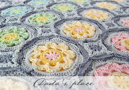 Secret Garden Crochet Granny Circle Allfreecrochet