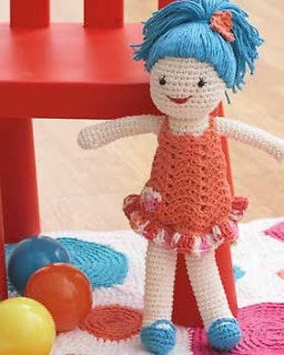 Quick And Easy Crochet Doll Allfreecrochet