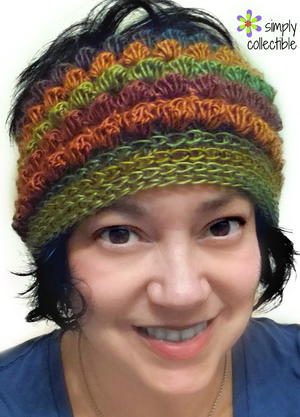 Bibbity Bobbity 3-in-1 Messy Bun Hat