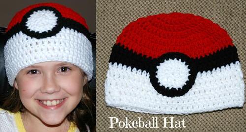 Pokeball Hat Allfreecrochet