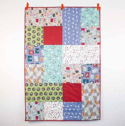 Simply Darling Baby Quilt Pattern