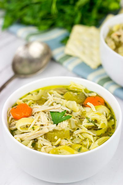 Go-To Slow Cooker Chicken Noodle Soup