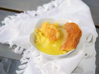 Unforgettable Lemon Pudding Cake