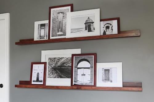 Shallow Easy DIY Shelves | DIYIdeaCenter.com