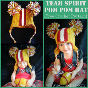 Team Spirit Pompom Hat