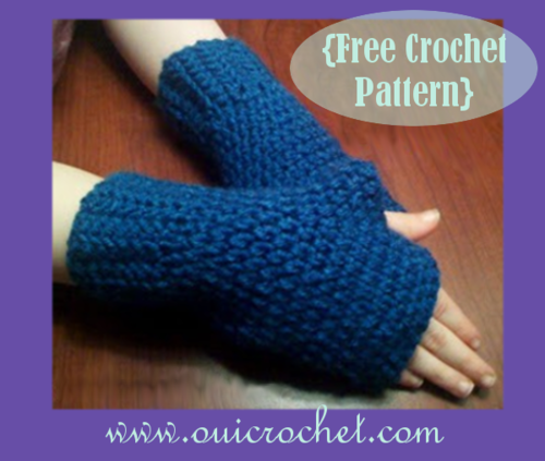 Fingerless Gloves For Kids Allfreecrochet