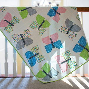 Spring in Sweden Butterfly Quilt