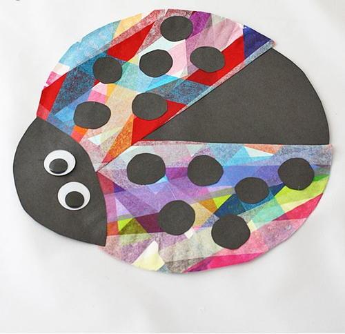 Paper Plate Ladybug Craft For Kids Allfreepapercrafts
