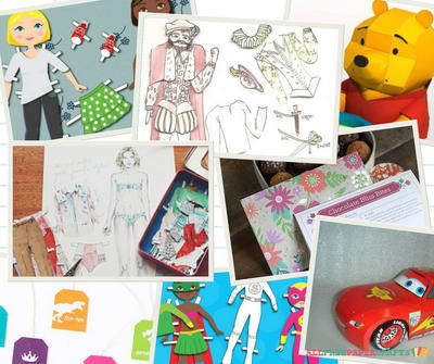 29 Free Printable Paper Dolls and Other Printable Paper Crafts