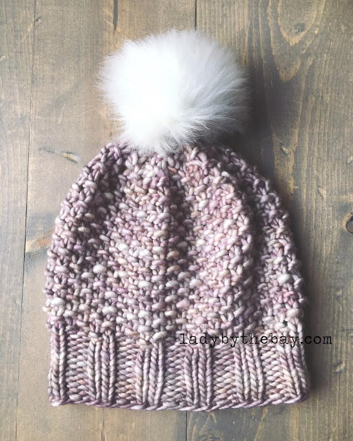 Dustweaver Seed Stitch Hat Allfreeknitting Com