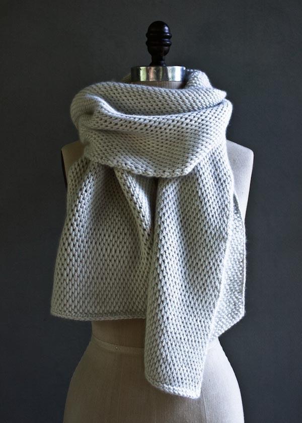Elegant Tunisian Crochet Scarf | AllFreeCrochet.com