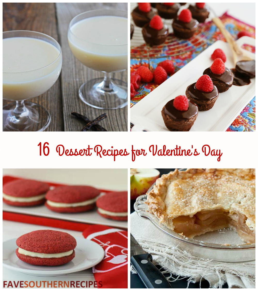 16 Recipes For Valentine S Day Desserts Favesouthernrecipes Com