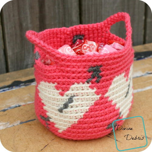 Valentines Day Heart Basket Favecrafts