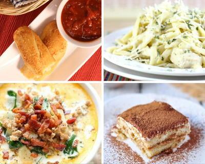 13 Favorite Olive Garden Copycat Recipes